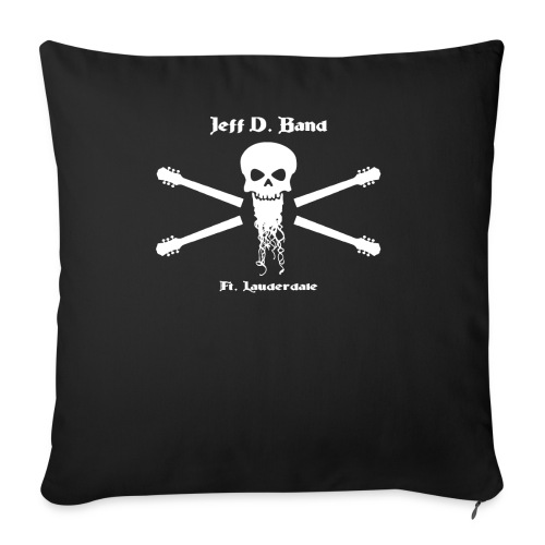 Jeff D. Band Tall Sized T-Shirt (m) - Throw Pillow Cover