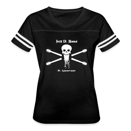 Jeff D. Band Tall Sized T-Shirt (m) - Women's Vintage Sport T-Shirt