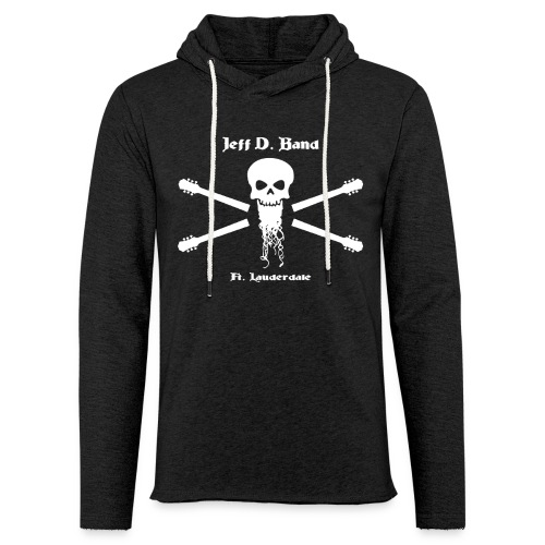 Jeff D. Band Tall Sized T-Shirt (m) - Unisex Lightweight Terry Hoodie