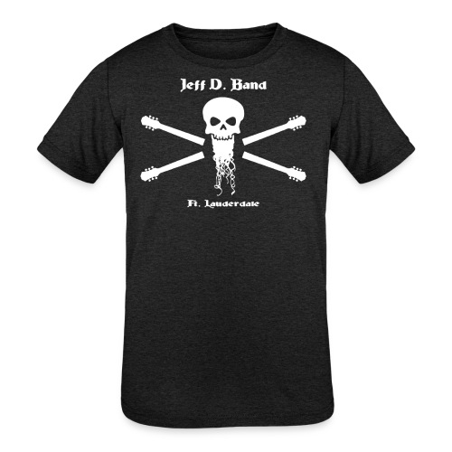 Jeff D. Band Tall Sized T-Shirt (m) - Kids' Tri-Blend T-Shirt