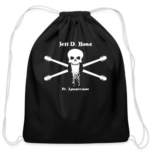 Jeff D. Band Tall Sized T-Shirt (m) - Cotton Drawstring Bag