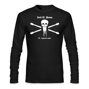 Jeff D. Band Tall Sized T-Shirt (m) - Men's Long Sleeve T-Shirt by Next Level