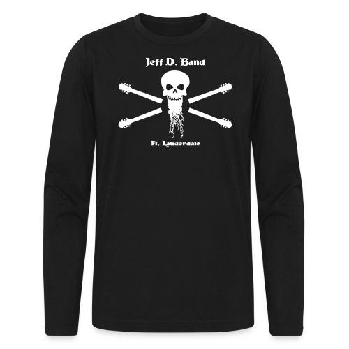 Jeff D. Band Tall Sized T-Shirt (m) - Men's Long Sleeve T-Shirt by Next Level