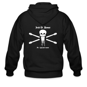 Jeff D. Band Tall Sized T-Shirt (m) - Men's Zip Hoodie
