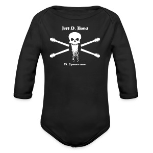 Jeff D. Band Tall Sized T-Shirt (m) - Long Sleeve Baby Bodysuit