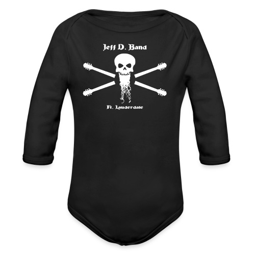 Jeff D. Band Tall Sized T-Shirt (m) - Organic Long Sleeve Baby Bodysuit