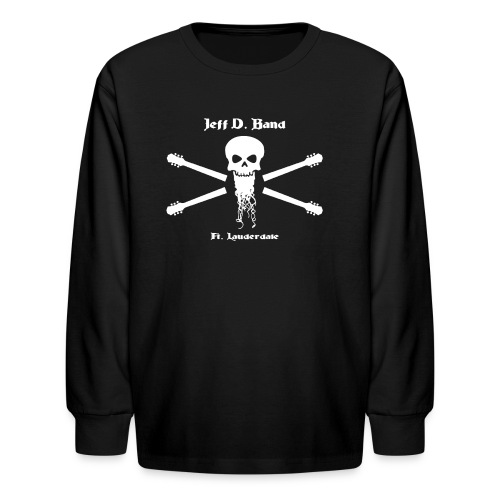 Jeff D. Band Tall Sized T-Shirt (m) - Kids' Long Sleeve T-Shirt