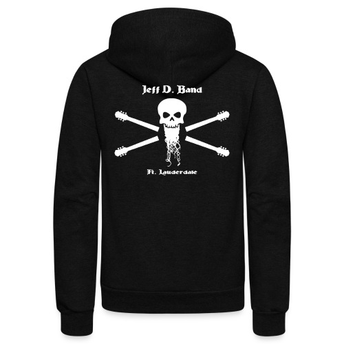 Jeff D. Band Tall Sized T-Shirt (m) - Unisex Fleece Zip Hoodie