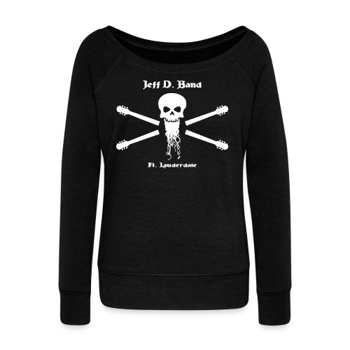 Jeff D. Band Tall Sized T-Shirt (m) - Women's Wideneck Sweatshirt