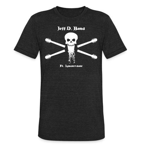Jeff D. Band Tall Sized T-Shirt (m) - Unisex Tri-Blend T-Shirt