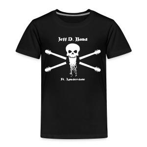 Jeff D. Band Tall Sized T-Shirt (m) - Toddler Premium T-Shirt