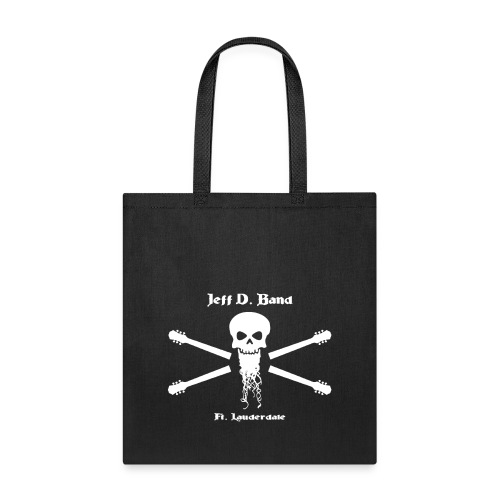 Jeff D. Band Tall Sized T-Shirt (m) - Tote Bag