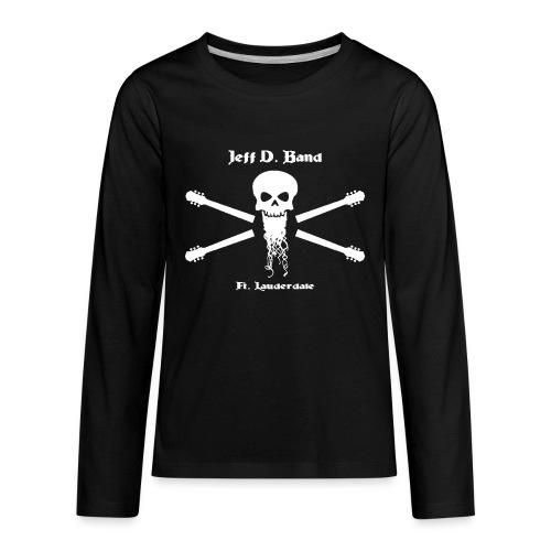 Jeff D. Band Tall Sized T-Shirt (m) - Kids' Premium Long Sleeve T-Shirt