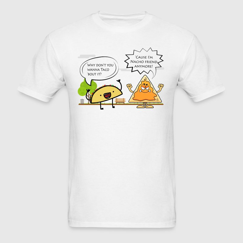 Taco n Nacho - Men's T-Shirt