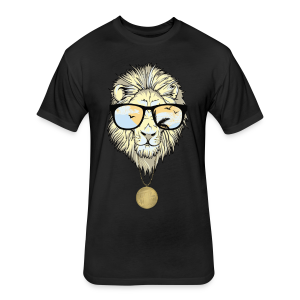 Lion Nation - Fitted Cotton/Poly T-Shirt by Next Level