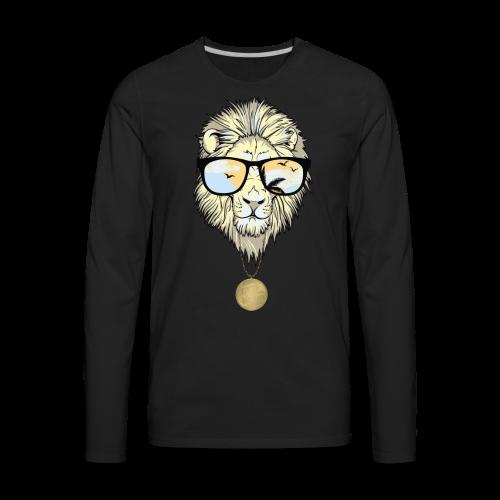 Lion Nation - Men's Premium Long Sleeve T-Shirt