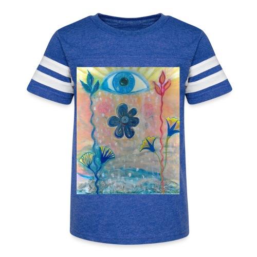 The Eye of Wisdom, Men's Tie Dye T-shirt - Kid's Vintage Sport T-Shirt