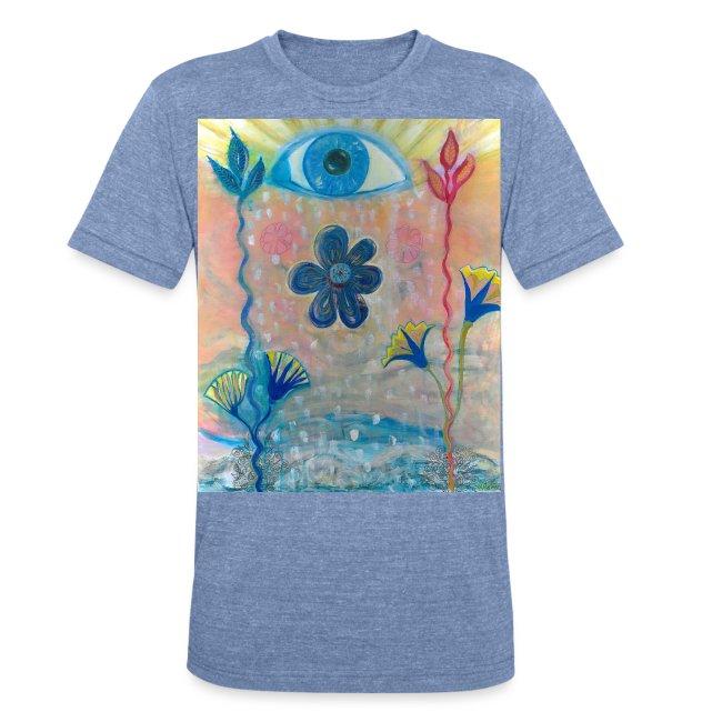 The Eye of Wisdom, Men's Tie Dye T-shirt