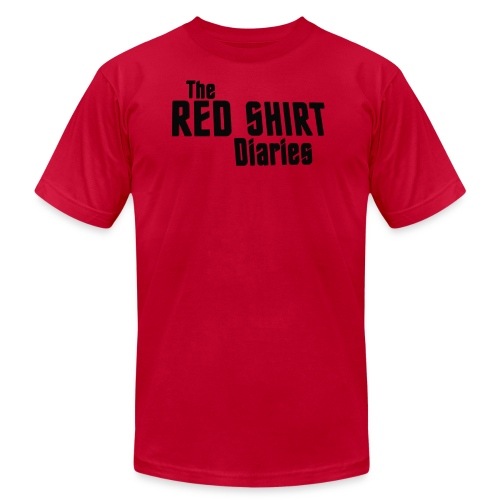 The Red Shirt Diaries Red Shirt - Men's  Jersey T-Shirt