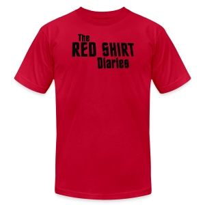 The Red Shirt Diaries Red Shirt - Men's T-Shirt by American Apparel