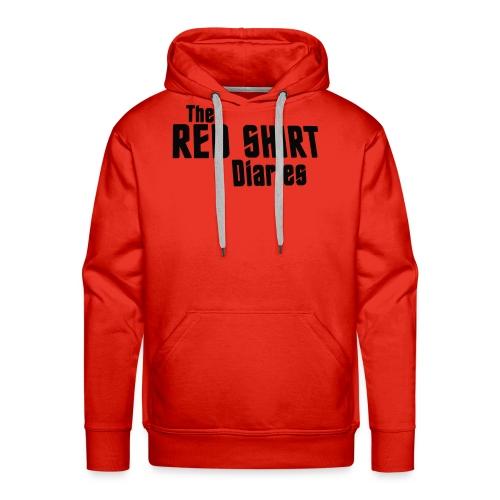 The Red Shirt Diaries Red Shirt - Men's Premium Hoodie