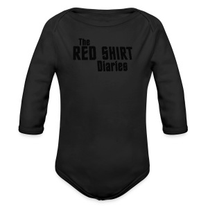 The Red Shirt Diaries Red Shirt - Long Sleeve Baby Bodysuit