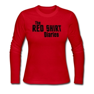 The Red Shirt Diaries Red Shirt - Women's Long Sleeve Jersey T-Shirt