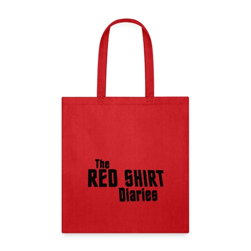 The Red Shirt Diaries Red Shirt - Tote Bag