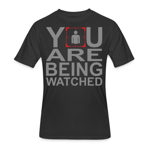 Person of Interest - You Are Being Watched - Men's 50/50 T-Shirt