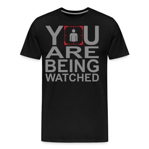 Person of Interest - You Are Being Watched - Men's Premium T-Shirt