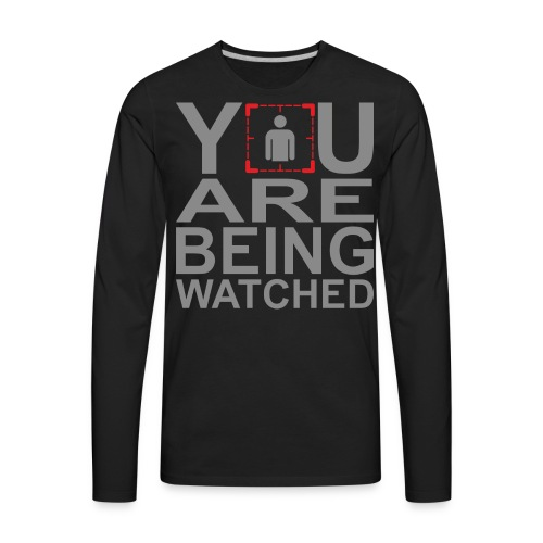 Person of Interest - You Are Being Watched - Men's Premium Long Sleeve T-Shirt