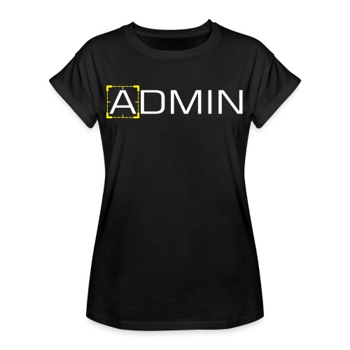 Person of Interest - Admin - Women's Relaxed Fit T-Shirt