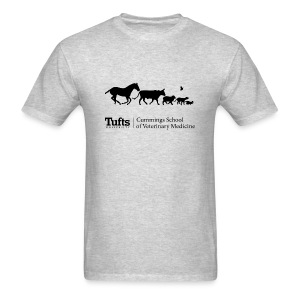 Men's Long Sleeve T-shirt - Running Animals - Men's T-Shirt