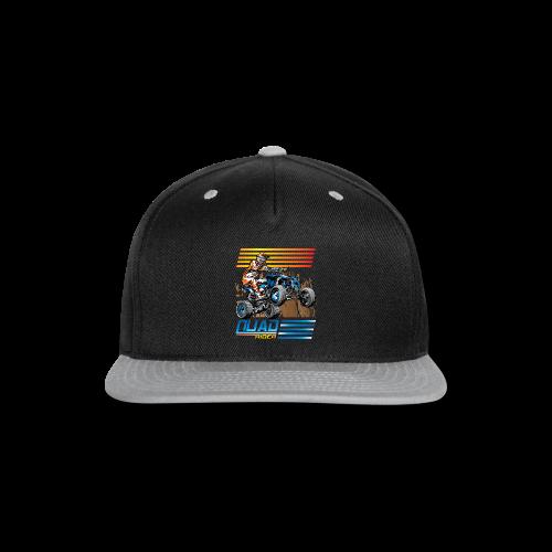 ATV Quad Rider - Snap-back Baseball Cap