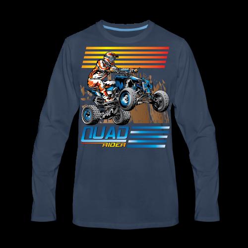 ATV Quad Rider - Men's Premium Long Sleeve T-Shirt