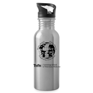 Canvas Tote - Globe - Water Bottle