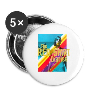 The Red Shirt Diaries Poster Mug! - Large Buttons