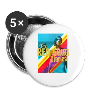 The Red Shirt Diaries Poster Mug! - Small Buttons