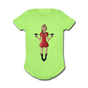 Angry Ensign Williams Shirt - Short Sleeve Baby Bodysuit