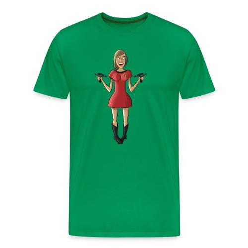 Angry Ensign Williams Shirt - Men's Premium T-Shirt