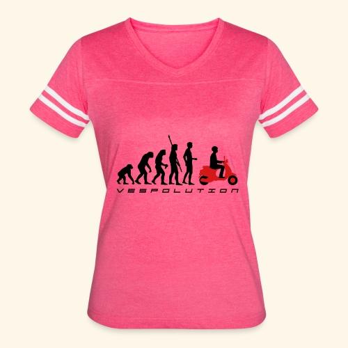 Womans flowie tank Top Vespolution - Women's Vintage Sport T-Shirt