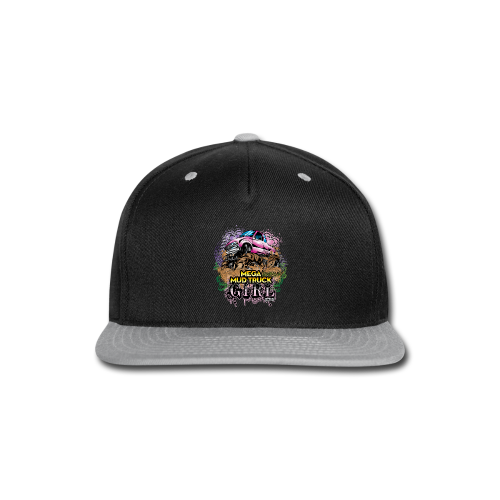 Mega Mud Truck Girl - Snap-back Baseball Cap