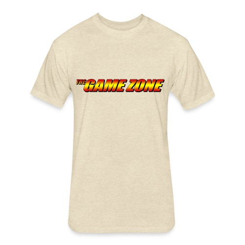 TGZ Logo - Comic Style - Fitted Cotton/Poly T-Shirt by Next Level