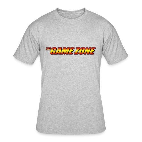 TGZ Logo - Comic Style - Men's 50/50 T-Shirt