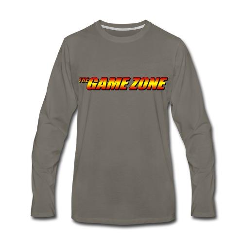 TGZ Logo - Comic Style - Men's Premium Long Sleeve T-Shirt