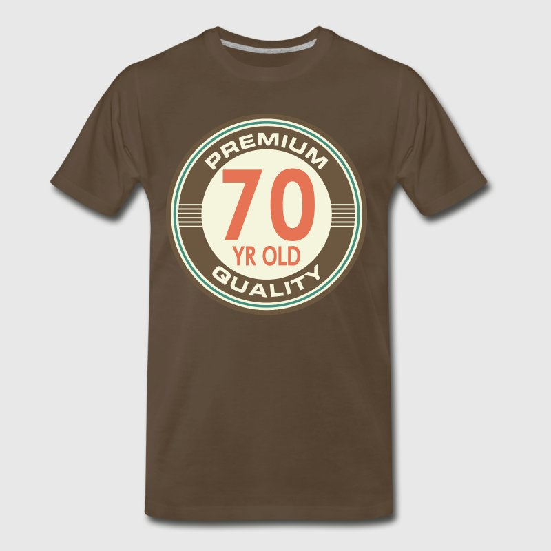 70th Birthday Vintage logo T-Shirts - Men's Premium T-Shirt