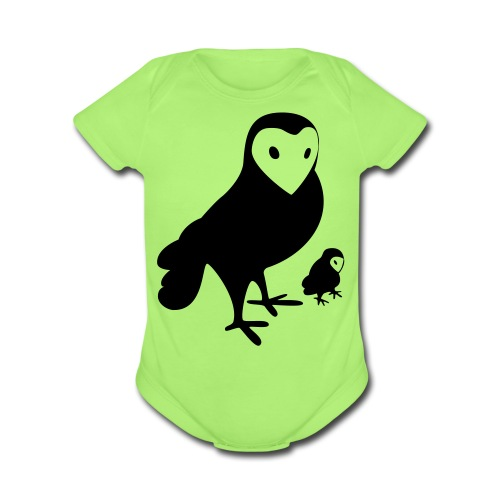 Owl Kids' Tee - Short Sleeve Baby Bodysuit