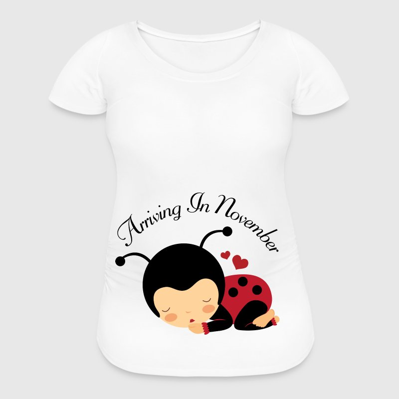 November Due Date maternity Women's T-Shirts - Women's Maternity T-Shirt