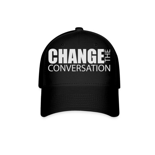 Change the Conversation Wide Neck Tee - Baseball Cap
