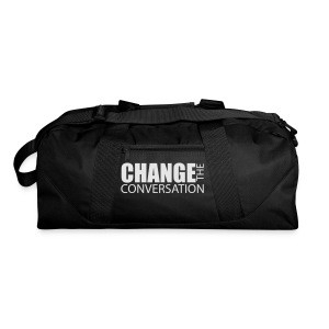 Change the Conversation Wide Neck Tee - Duffel Bag